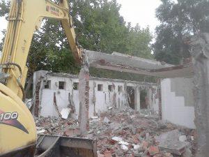 Demolições e remoção de amianto em ESCOLA SECUNDÁRIA DO PINHAL NOVO
