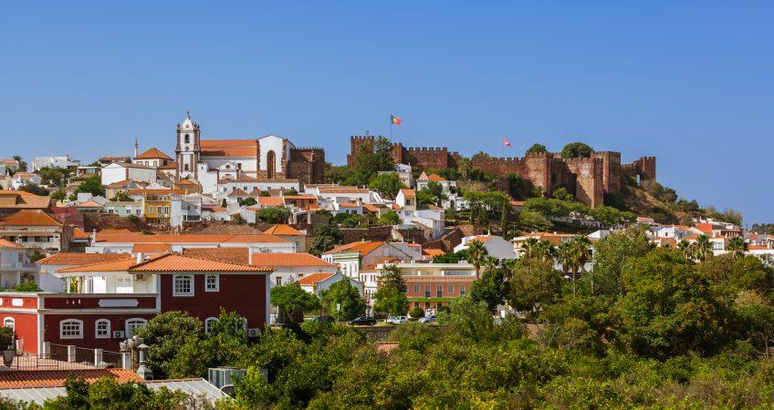 Cidade de Silves - remoção cobertura